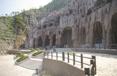 南京:达摩古洞景区今起开门迎客