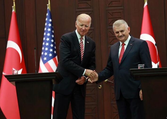 美国副总统拜登访问土耳其