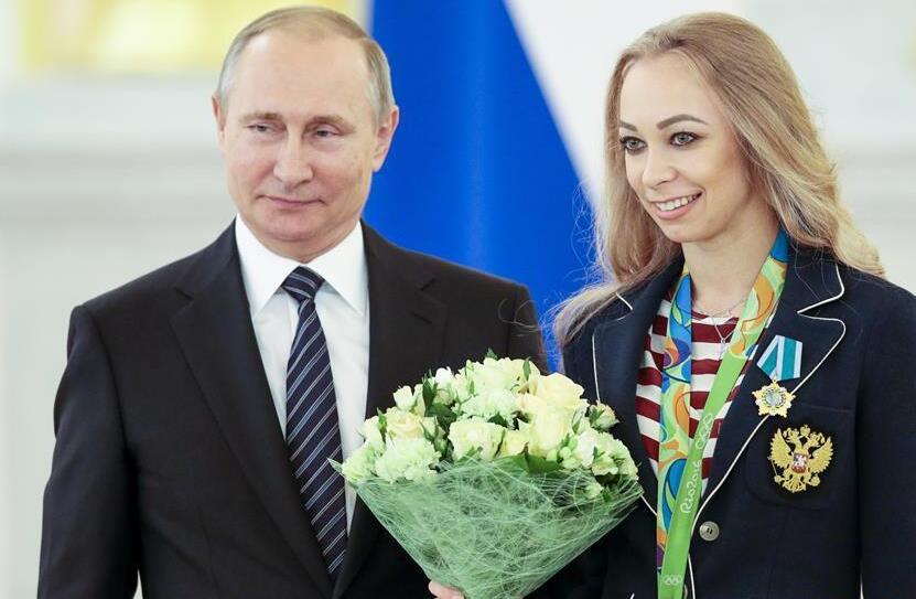 普京接見俄羅斯里約奧運冠軍