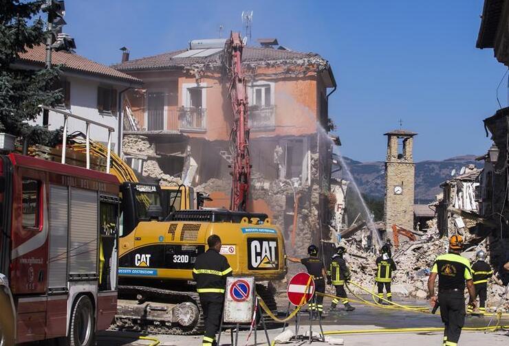 意大利著手對地震受災城鎮建設展開司法調查
