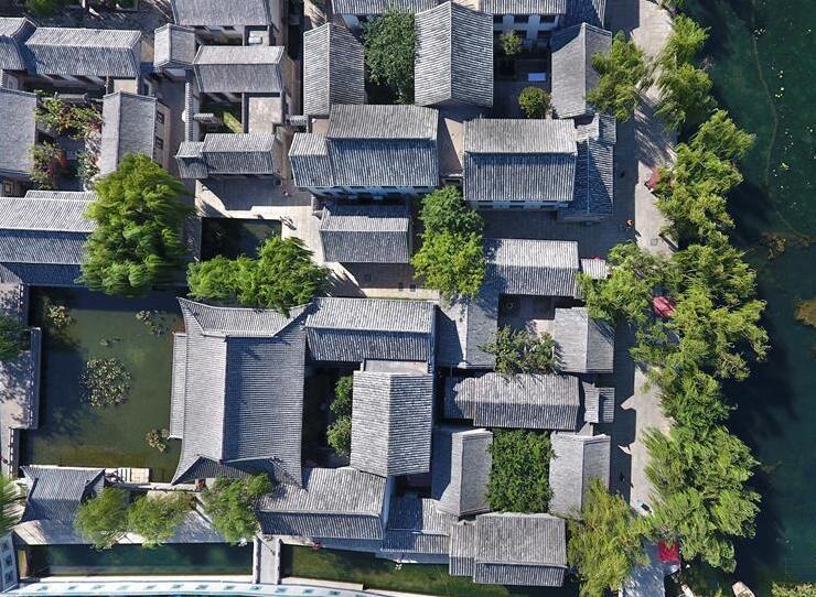 济南百花洲传统街区成为城市新名片