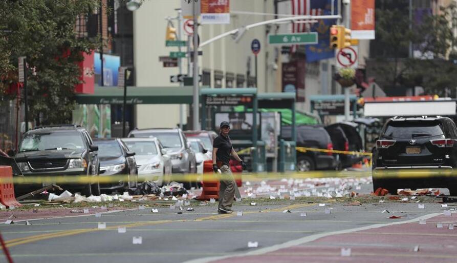 纽约州长称曼哈顿爆炸案是恐怖主义行为