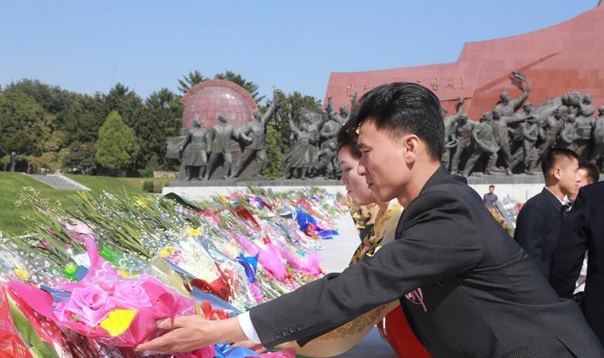 朝鲜庆祝劳动党成立71周年