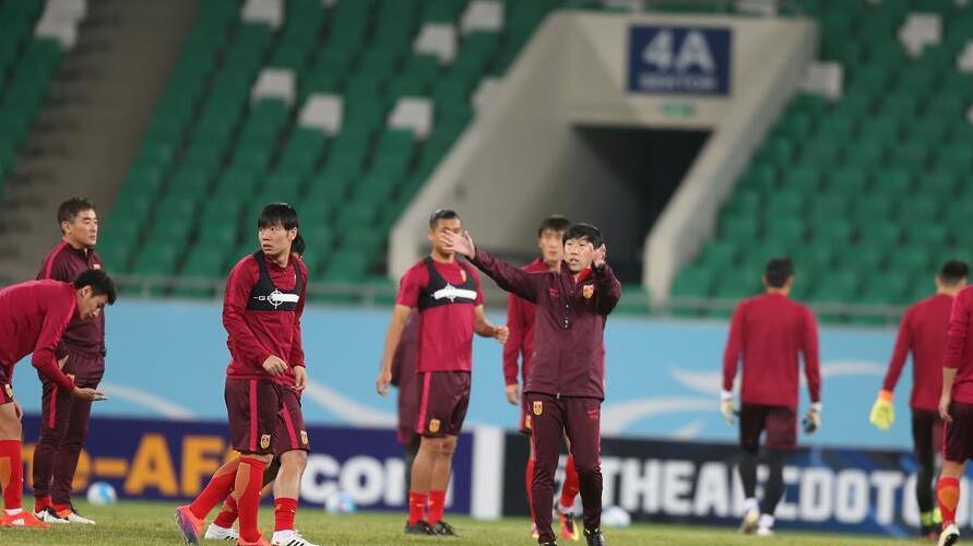 中国队备战世预赛