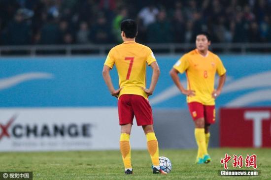 中國男足再敗進軍世界杯渺茫 高洪波賽后宣布辭職