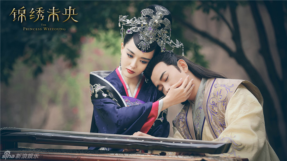 《锦绣未央》曝光了片头曲MV 唐嫣罗晋演绎矢志不渝的旷世爱恋