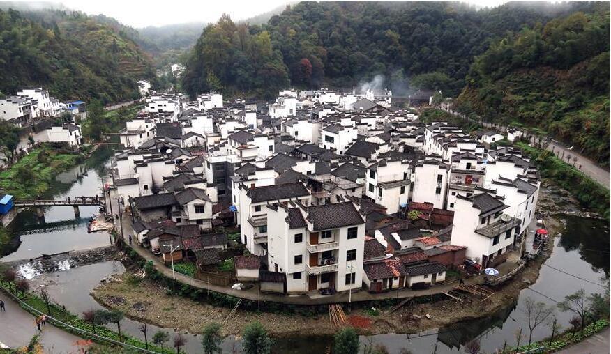 """美丽中国:""""徽派建筑大观园"""""""