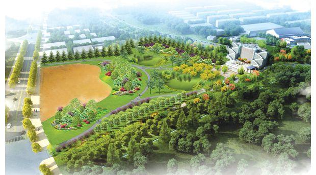 随州市擂鼓墩遗址公园建设稳步推进