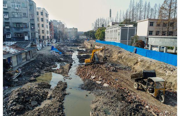 随州市东护城河治理工程全面启动