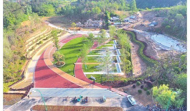 随城山国家生态公园主体工程完工
