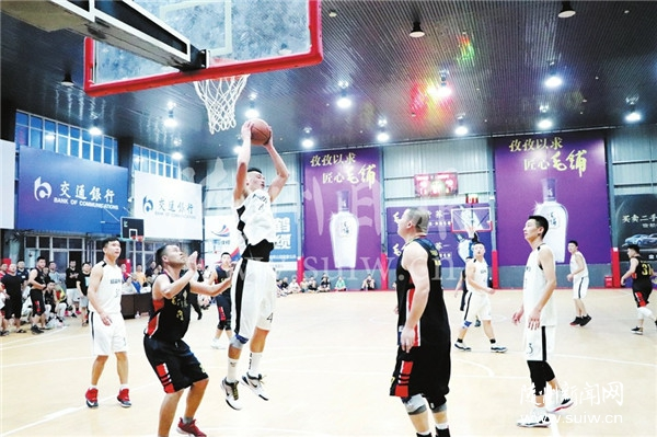 2019年随州市男子篮球联赛开赛