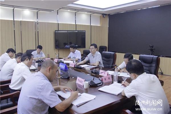 陈瑞峰:坚持问题导向 保持高压态势 推动扫黑除恶专项斗争取得更大战果