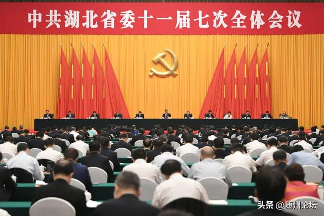 6月10日举行的湖北省委十一届七次全会,通过这两个重磅文件!