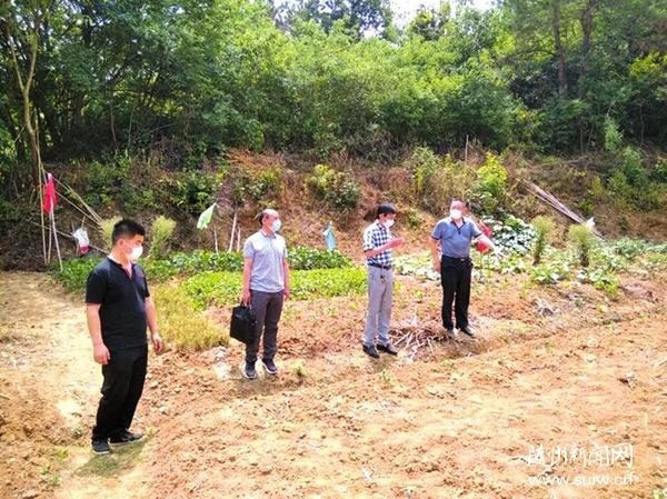核定農戶耕地面積做好耕地地力保護申報工作