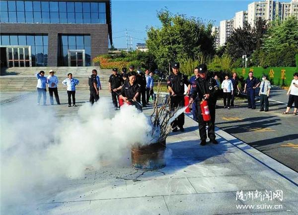 消防灭火、疏散、救援演练