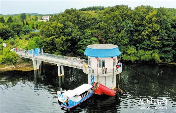 封江水廠取水口改造