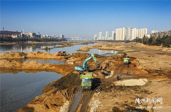 白云湖清淤清庫